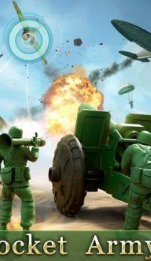 Army Men Strike -حمله سرباز های اسباب بازی
