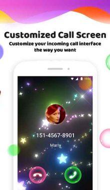Color Phone Flash - تم گرافیک تماس