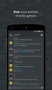 Discord Chat for Gamers - چت اختصاصی گیمر ها