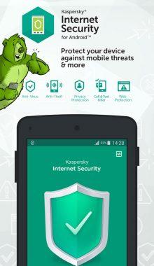 Kaspersky Mobile Security - آنتی ویروسکسپرسکی
