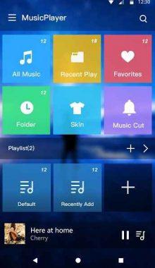 Music Player - Audio & Music Equalizer -موزیک پلیر و اکولایزر حرفه ای