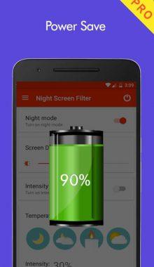 Night Screen Filter -فیلتر حالت شب صفحه نمایش