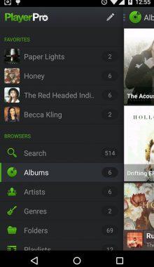 PlayerPro Music Player - موزیک و ویدئو پلیر اندروید