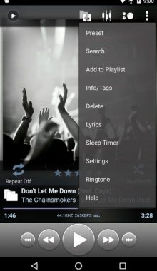 Poweramp Music Player -موزیک پلیر پاور ای ام پی
