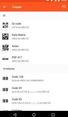 QR BarCode -اسکن و ساخت بارکد QR