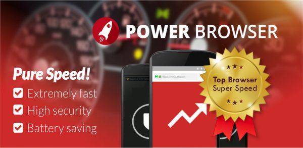 Power Browser -مرورگر وب