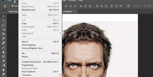 آموزش تصویری آیینه کردن تصویر (قرینه کردن عکس) در فتوشاپ به روش جدید