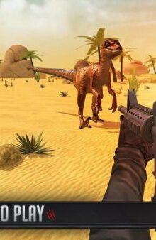 شکارچی دایناسور -Dinosaur Hunt 2018