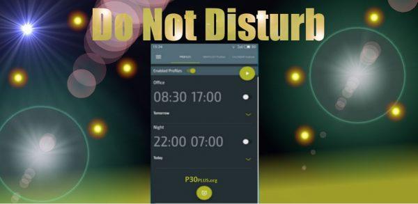 Do Not Disturd -حالت سایلنت هوشمند و خودکار