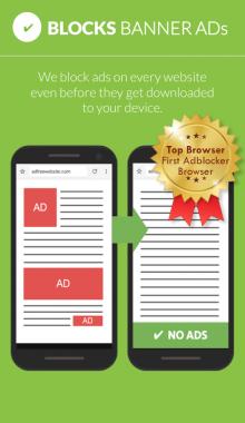 مرورگر اندروید -Free Adblocker Browser