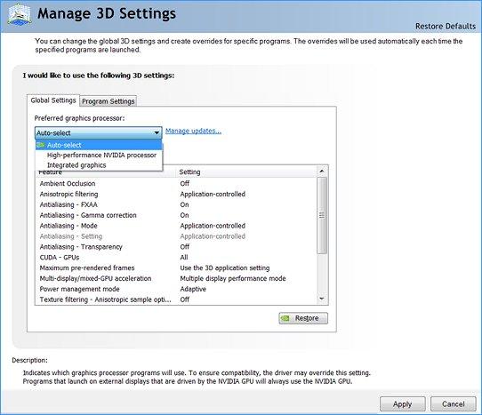 آموزش تصویری سوئیچ کردن کارت گرافیک Intel و Nvidia در ویندوز 7 ، 8 و 10