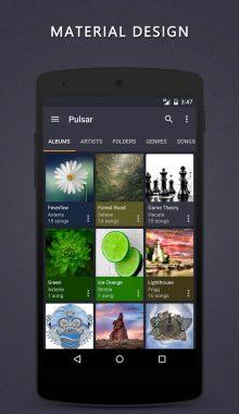Pulsar Music Player - موزیک پلیر پولسار