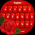 Red Rose Keyboard -کیبورد عاشقانه