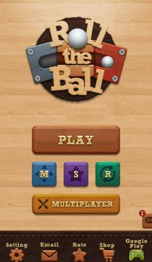 حرکت توپ - Roll the Ball