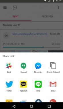 Send Anywhere - اپ ارسال سریع فایل های اندروید