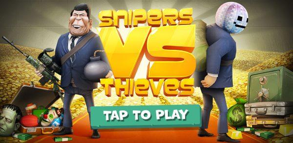 Snipers vs Thieves -سارقان و تک تیراندازها