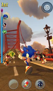 سونیک -Sonic Forces Speed Battle