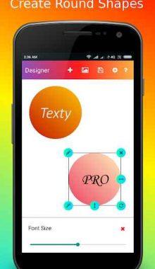 ساخت و ویرایش تصاویر -Texty PRO