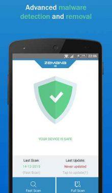 Zemana Mobile Antivirus - آنتی ویروس موبایل زمانا
