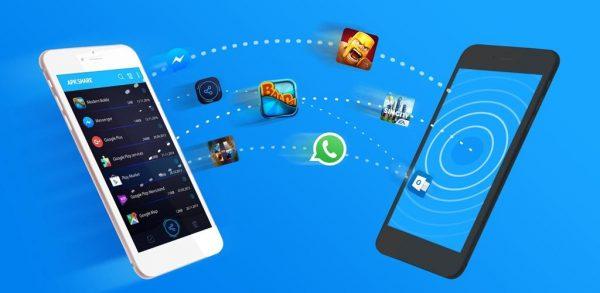 اشتراک گذاری فایل اندروید -Bluetooth App Sender