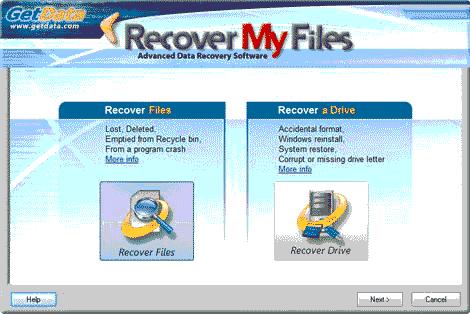 ریکاوری عکس ، فیلم و فایل با نرم افزار پرقدرت ( Recovery My Files ) ریکاوری فایل