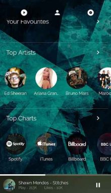 موزیک پلیر - Avee Music Player New