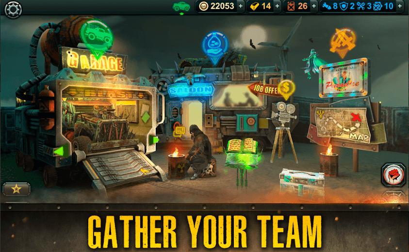 دانلود Dead Paradise: The Road Warrior v1.7 - بازی بهشت مردگان + مود