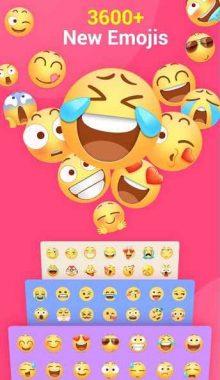 کیبورد اندروید -Facemoji Emoji Keyboard