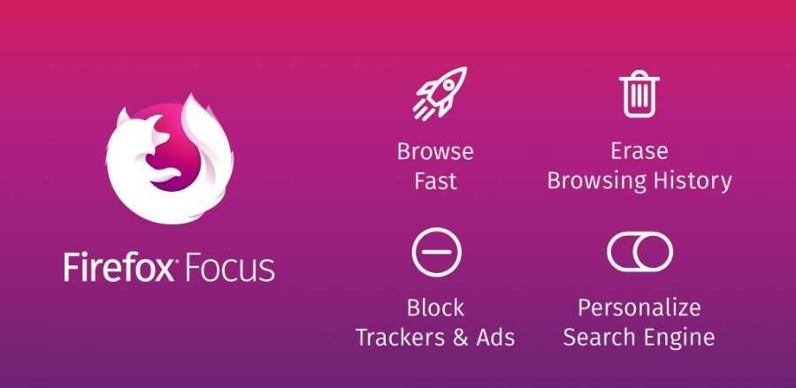 دانلود Firefox Focus 8.13.0 - مرورگر حرفه ای فایرفاکس فوکوس اندروید