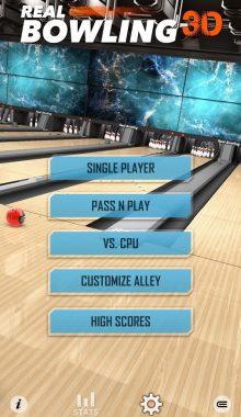 بولینگ واقعی و سه بعدی -Real Bowling 3D