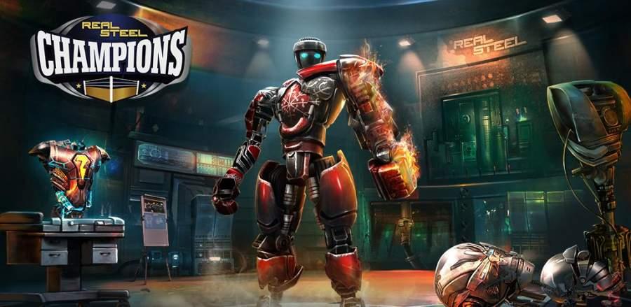 Real Steel Boxing Champions -مسابقات بوکس ربات ها