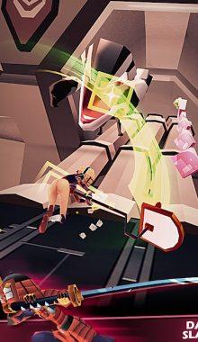 نبرد دختر سریع و جوکر -Slash & Girl