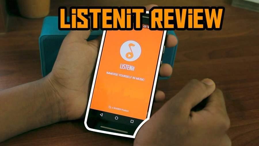 دانلود Music Player v1.6.98 - موزیک پلیر جالب LISTENit از کمپانی شیریت برای اندروید