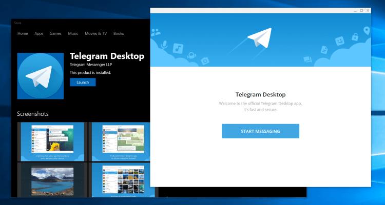 تلگرام دسکتاپ - desktop telegram