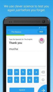 برنامه آموزش زبان های خارجی اندروید -Memrise Learn Languages