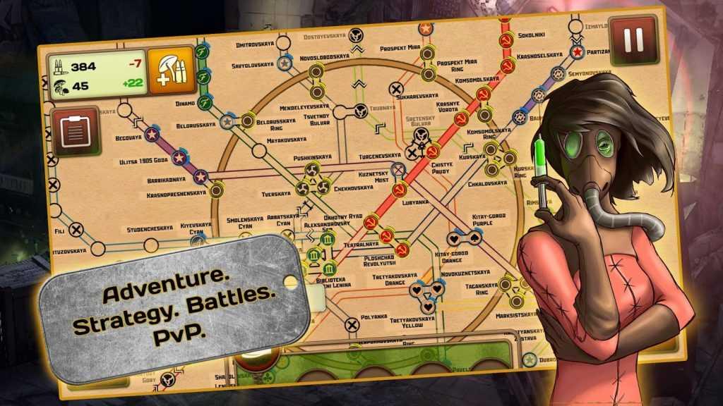 دانلود Metro 2033 Wars v1.91 - بازی جنگ های مترو 2033 برای اندروید