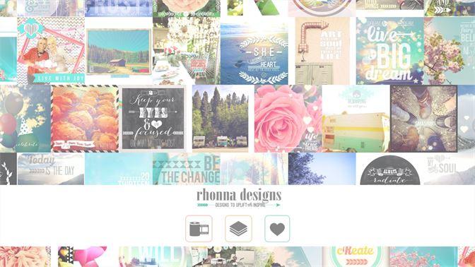 طراحی تصاویر - Rhonna Designs