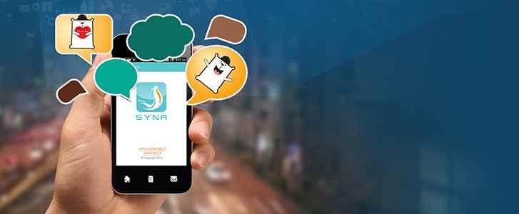 دانلود پیام رسان ساینا برای اندروید - مسنجر رایگان ایرانی Syna v2.2.6