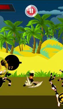 تصاویر محیط بازی استیکمن قهرمان Stickman Hero - pirate Fight