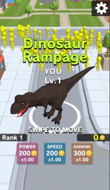"""دانلود بازی Dinosaur Rampage """"دایناسور رمپیج"""" خشم دایناسور"""