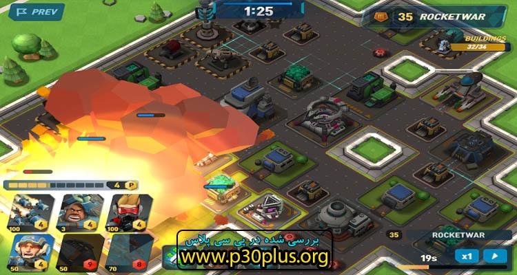 دانلود بازی Mad Rocket: Fog Of War 1.19.1
