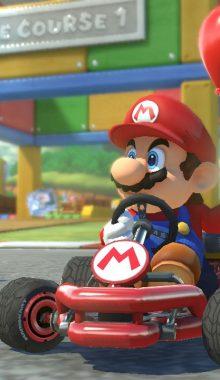 """بازی Marop Kart Tour """"ماریو کارت تور"""" موتور سواری ماریو"""