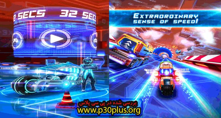 دانلود بازی موتورسواری 32Secs : Traffic Rider - بازی 32 ثانیه 1.12.11 + مود اندروید