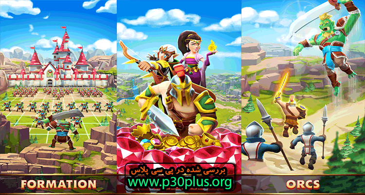 Empire : Age of Knights - New Medieval MMO دانلود بازی عصر شوالیه ها 2.7.8979 + مود اندروید