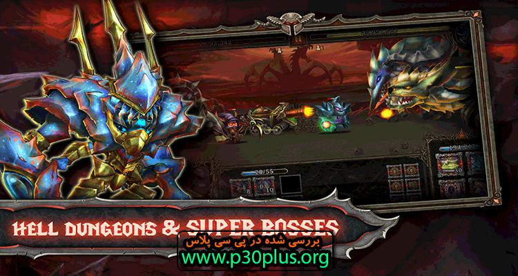 Epic Legendary Summoners دانلود بازی احضار گران افسانه ای 1.11.3.437dex + اندروید