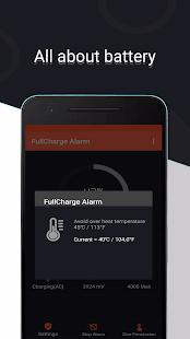 اپلیکیشن Full Charge Alarm Pro آلارم پر شدن باتری پرو