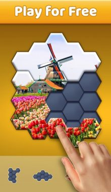 """Hexa Jigsaw Puzzle ™ """"هکسا جیگسا"""" بازی پازل اره ای هکسا"""