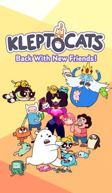 Klepto Cats Cartoon Network دانلود بازی گربه های لگد زن کلپتو