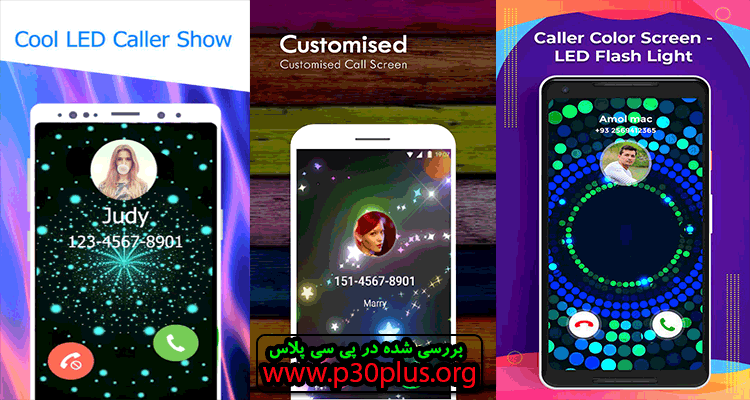 دانلود اپلیکیشن LED Caller : Flash color on Call