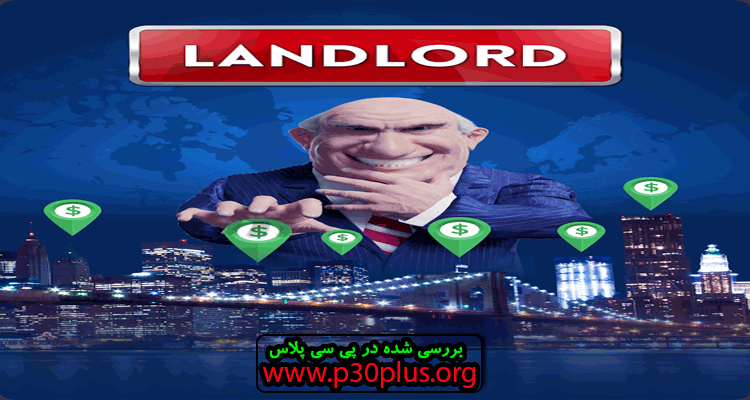 دانلود بازی Landlord Tycoon - Money Investing Idle with GPS
